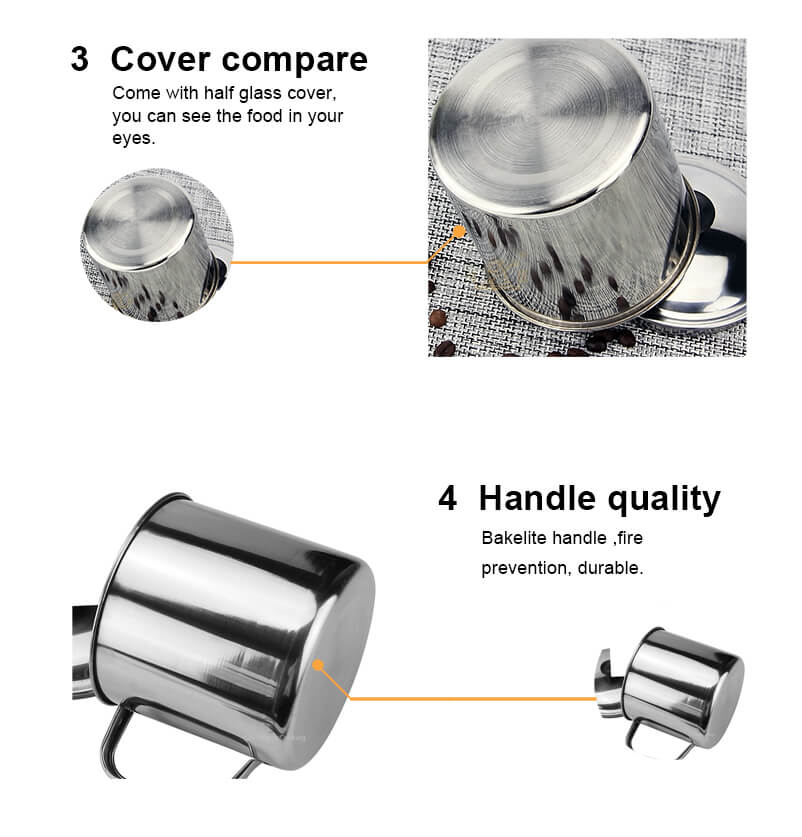 stainless steel kitchenware wholesale  Cover Bowls  ODM Lunch Containers