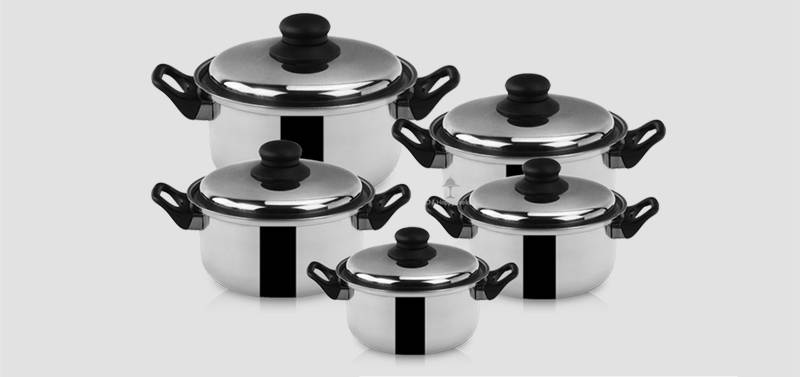 cookware pot set ODM  soup pot set